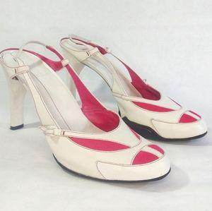 Cole Haan G Series Nike Air Color Block Heels
